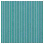 [ Thumbnail: Dark Cyan & Light Slate Gray Colored Stripes Fabric ]