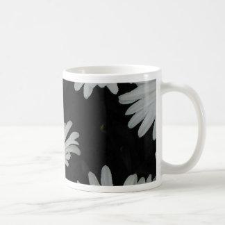 Dark Daisies 2 Flowers Americana Folk Art Classic White Coffee Mug