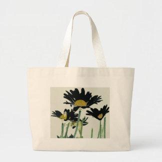 Dark Daisies Bags