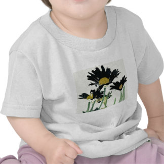 Dark Daisies T-shirts