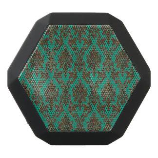 Dark Damask Multicolored Black Bluetooth Speaker