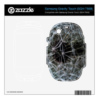 Dark Dandelion Samsung Gravity Touch Skin