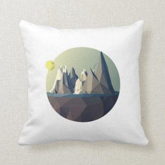 Dark dawn throw pillow