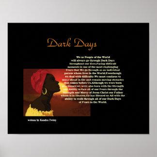 Dark Days Print