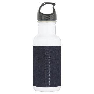 Dark Denim Seam 18oz Water Bottle