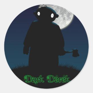 Dark Derek - Axe Classic Round Sticker