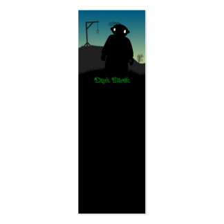 Dark Derek - Gallows Double-Sided Mini Business Cards (Pack Of 20)