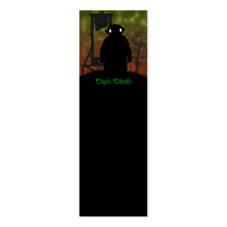 Dark Derek - Guillotine Double-Sided Mini Business Cards (Pack Of 20)