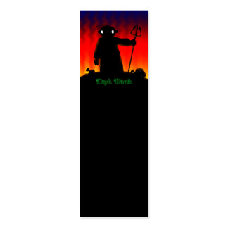 Dark Derek - Hades Double-Sided Mini Business Cards (Pack Of 20)