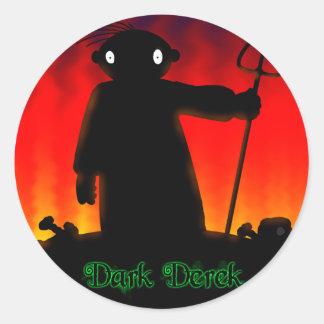 Dark Derek - Hades Classic Round Sticker
