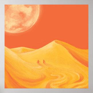 Dark Desert Poster