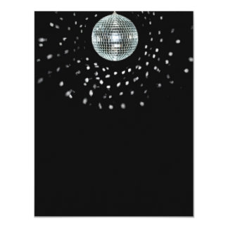 Dark Disco Ball Card