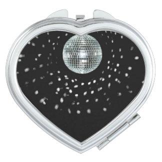 Dark Disco Ball Makeup Mirror