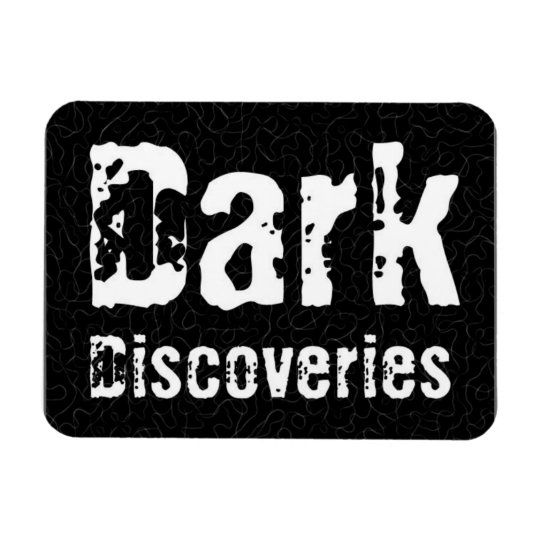 Dark Discoveries Rectangular Photo Magnet