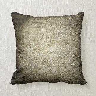 Dark Distressed Pattern Pillow