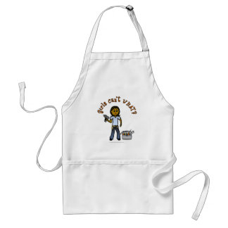 Dark Do-It-Yourself Diva Adult Apron