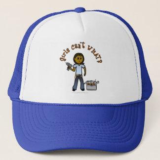 Dark Do-It-Yourself Diva Trucker Hat
