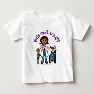 Dark Doctor Girl Baby T-Shirt