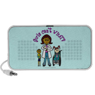 Dark Doctor Girl iPhone Speakers