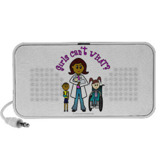 Dark Doctor Girl Mini Speaker