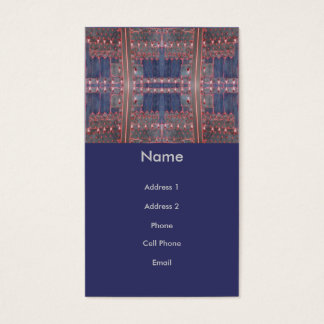 dark door abstract business card