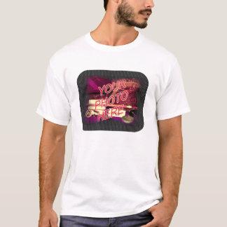 Dark Dots template frame T-Shirt
