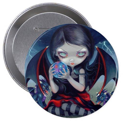 """""""Dark Dragonling"""" Button"""