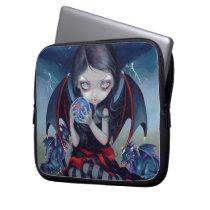 """""""Dark Dragonling"""" Electronics Bag"""