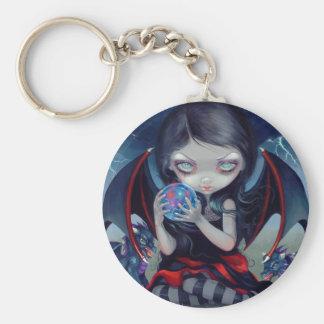 """Dark Dragonling"" Keychain"