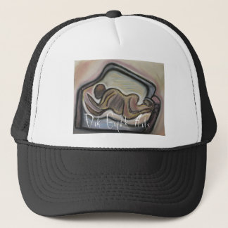 Dark Dreams (Abstract Design) Trucker Hat