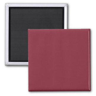 Dark Dusky Rose Custom Products Color Only Refrigerator Magnets