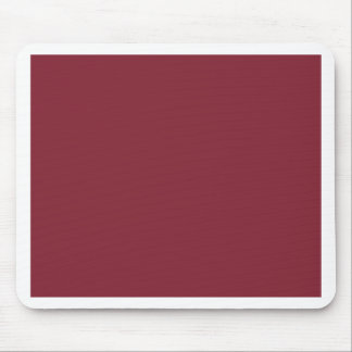 Dark Dusky Rose Custom Products Color Only Mouse Pad