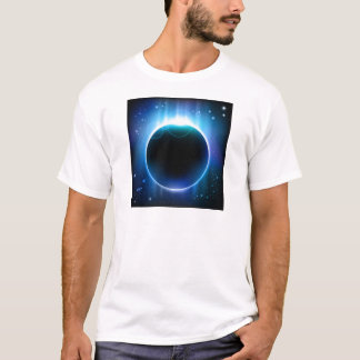 Dark Eclipse in Space T-Shirt