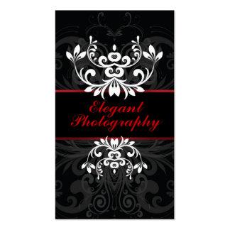 Dark Elegance Business Card