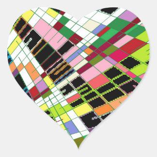 Dark Elegance Heart Sticker