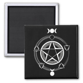 Dark Elemental Pentagram Magnets
