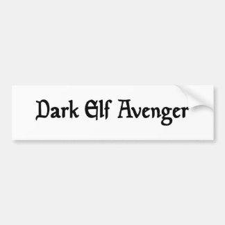 Dark Elf Avenger Bumper Sticker