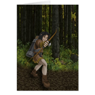 Dark Elf Card