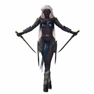 Dark Elf Tiny Standy Standing Photo Sculpture