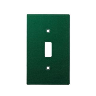 DARK EMERALD (a dark green design with fade) ~ Light Switch Cover