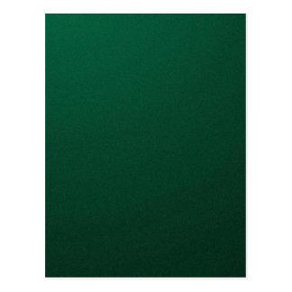 DARK EMERALD (a dark green design with fade) ~ Postcard