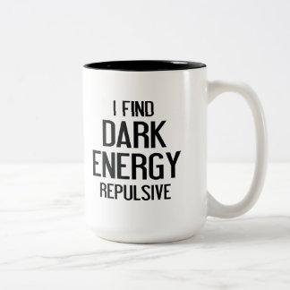 Dark Energy Two-Tone Coffee Mug