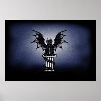 Dark Epic Dragon poster