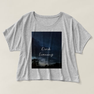 Dark Evening upper section T-shirt
