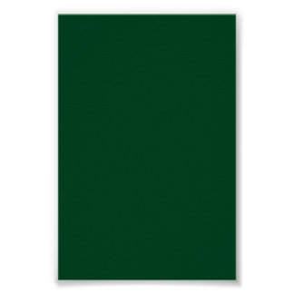 Dark Evergreen Green Background on a Poster