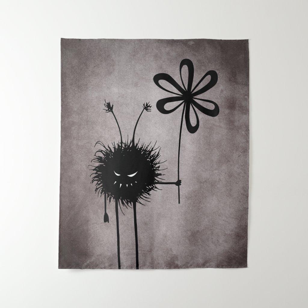 Dark Evil Flower Bug Vintage Gothic