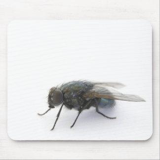 Dark Eyed Fly Mousepad