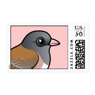 Dark-eyed Junco (pink-sided) Postage