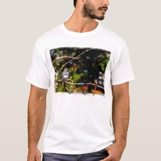 Dark-Eyed Junco Sparrow on Branch T-Shirt
