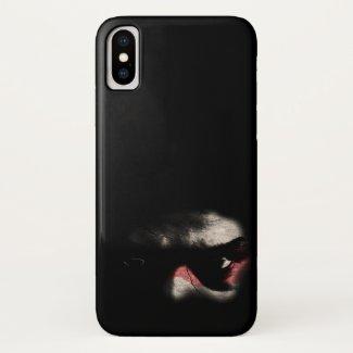 Dark Eyes... iPhone X Case